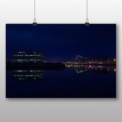 Big Box Art 'Dublin City at Night' Photographic Print