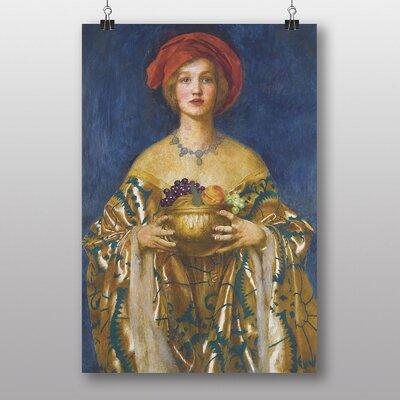 """Big Box Art """"The Golden Bowl"""" by Frank Cowper Cadogan Art Print"""