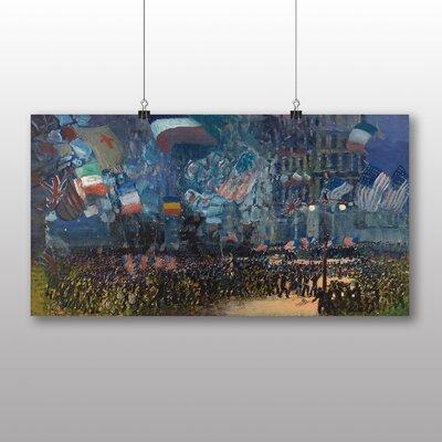 Big Box Art 'Armistice Night' by George Luks Art Print