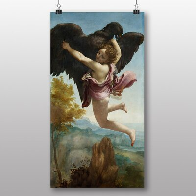 Big Box Art 'The Abduction of Ganymede' by Correggio Art Print