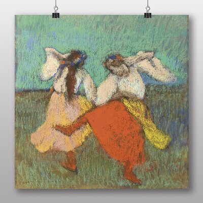 Big Box Art 'Two Dancers, Orange' by Edgar Degas Art Print