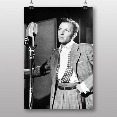 Big Box Art Frank Sinatra No.1 Photographic Print Wrapped on Canvas