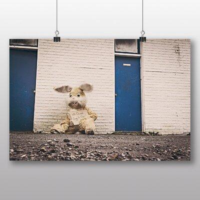 Big Box Art 'Easter Bunny Unemployed' Photographic Print