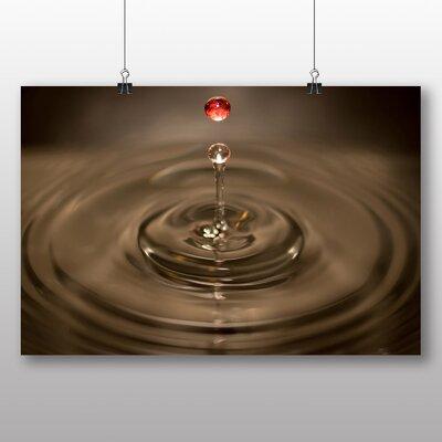 Big Box Art Drops of Water Rain No.2 Photographic Print