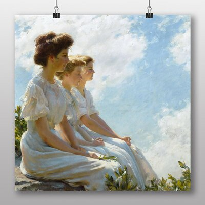 Big Box Art 'On the Heights' by Charles C. Curran Art Print
