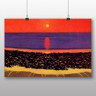 Big Box Art 'To Lay Down the Sun Villerville' by Felix Vallotton Art Print