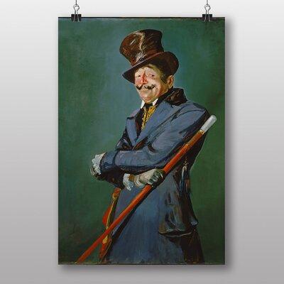 """Big Box Art """"Otis Skinner as Col. Bridau"""" by George Luks Art Print"""