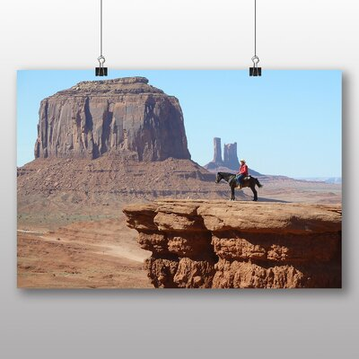 Big Box Art Cowboy Canyon Photographic Print