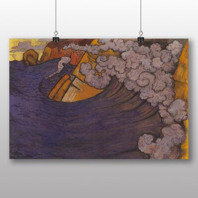 Big Box Art 'The Violet Wave' by Georges Lacombe Art Print
