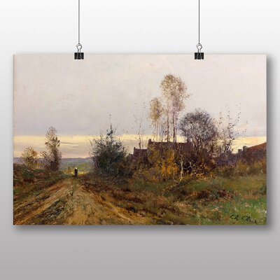 Big Box Art 'Landscape No.3' by Charles Francois Daubigny Art Print