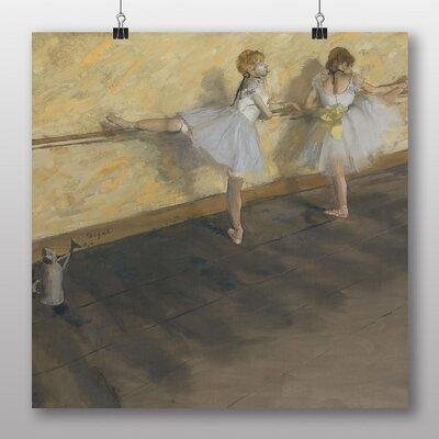 Big Box Art 'Dancers Practicing at the Bar' by Edgar Degas Art Print