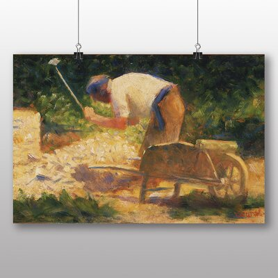 Big Box Art 'The Storm Breaker' by Georges Pierre Seurat Art Print