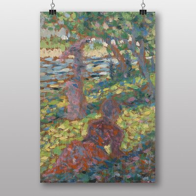 """Big Box Art """"Woman in the Park"""" by Georges-Pierre Seurat Art Print"""