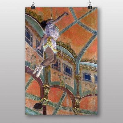 "Big Box Art ""Miss La La, Cirque Fernando"" by Edgar Degas Art Print"