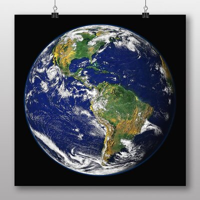 Big Box Art Earth from Space No.8 Photographic Print
