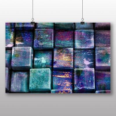 Big Box Art Cubes Abstract Graphic Art