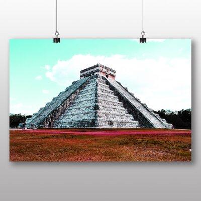Big Box Art Chichen Itza Mexico Graphic Art Wrapped on Canvas