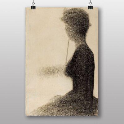 "Big Box Art ""Seated Woman"" by Georges-Pierre Seurat Art Print"
