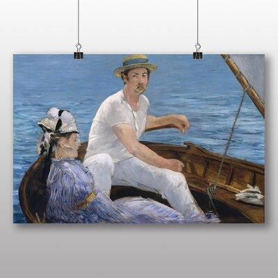Big Box Art 'Boating' by Edouard Manet Art Print