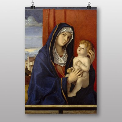 "Big Box Art ""Madonna and Child"" by Giovanni Bellini Art Print"