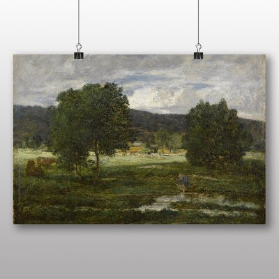 Big Box Art 'Paysage Boise' by Eugene Boudin Art Print