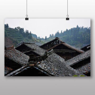 Big Box Art China Landscape No.3 Photographic Print Wrapped on Canvas