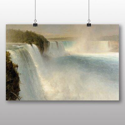 Big Box Art 'Niagara Falls' by Frederic Edwin Church Photographic Print