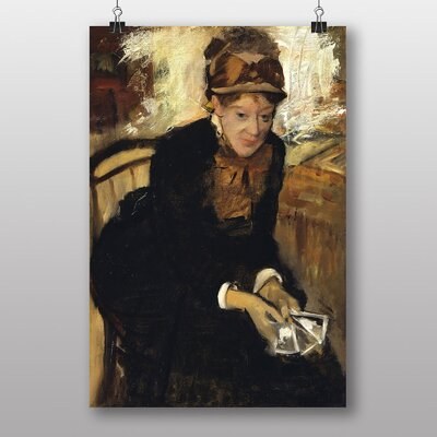 "Big Box Art ""Miss Cassatt"" by Edgar Degas Art Print"