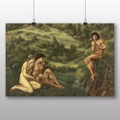 Big Box Art 'The Garden of Pan' by Edward Burne-Jones Art Print