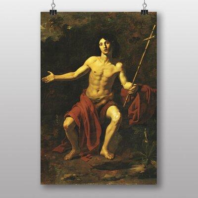 "Big Box Art ""San Giovanni Battista"" by Giovanni Battista Tiepolo Art Print"