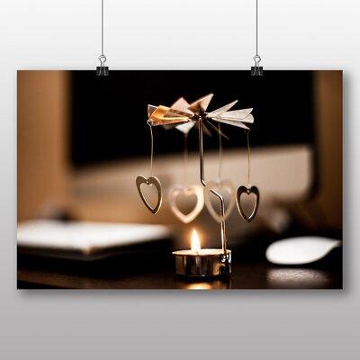 Big Box Art 'Dangling Hearts' Photographic Print