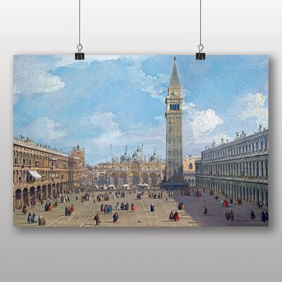Big Box Art 'Piazza San Marco No.2' by Giovanni Canaletto Art Print