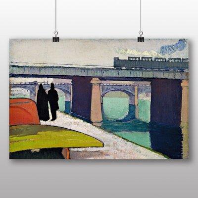 Big Box Art 'A Stroll by the River' by Emile Bernard Art Print