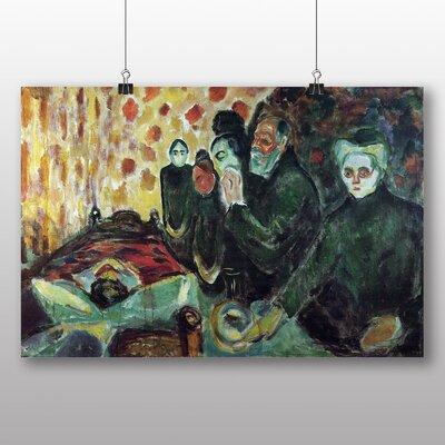 Big Box Art 'By the Deathbed' by Edvard Munch Art Print