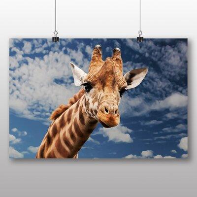 Big Box Art Giraffe No.2 Photographic Print on Canvas