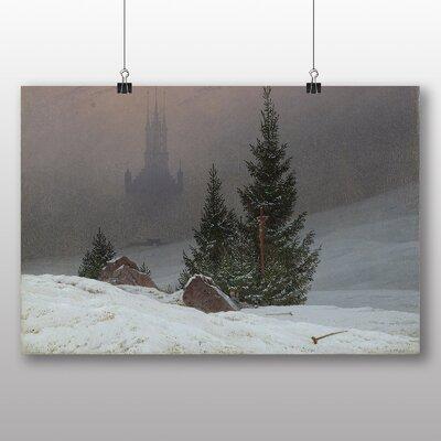 Big Box Art 'Winter Landscape' by Caspar David Friedrich Art Print