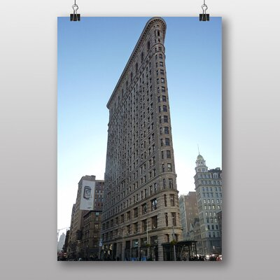 Big Box Art 'Flatiron Building New York City No.6' Photographic Print