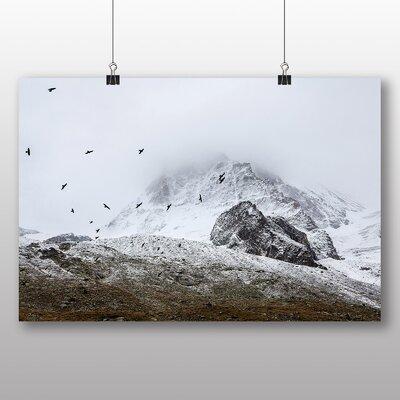Big Box Art Flock of Birds Photographic Print on Canvas