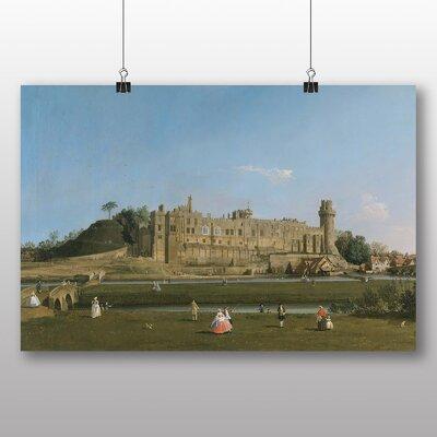 Big Box Art 'Warwick Castle' by Giovanni Canaletto Art Print