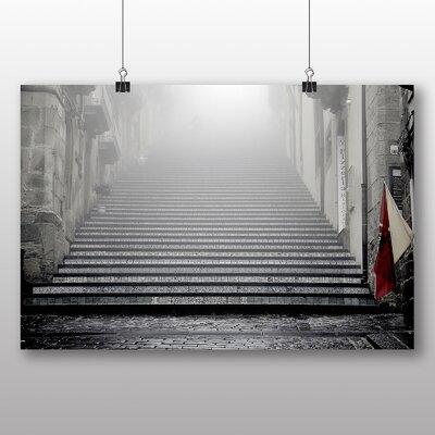 Big Box Art City Steps Photographic Print