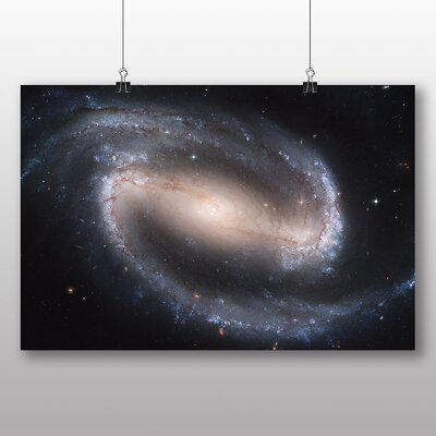Big Box Art Galaxy Space No.3 Graphic Art Wrapped on Canvas