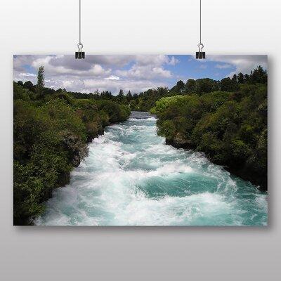 Big Box Art 'Fast Moving Stream' Photographic Print