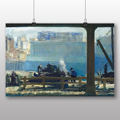 Big Box Art 'Blue Morning' by George Bellows Art Print