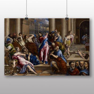 Big Box Art 'Christ Driving the Money Changers' by El Greco Art Print