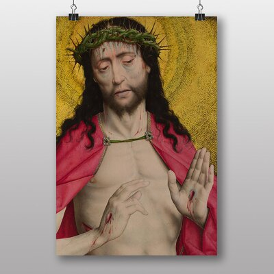 Big Box Art Christ Crowned with Thorns by Dieric Bouts Art Print