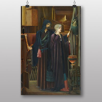 "Big Box Art ""The Wizard"" by Edward Burne-Jones Art Print"