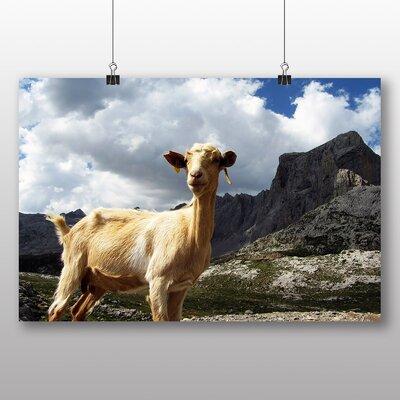 Big Box Art Goat No.5 Photographic Print on Canvas