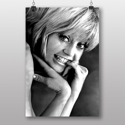 Big Box Art Goldie Hawn No.2 Photographic Print Wrapped on Canvas