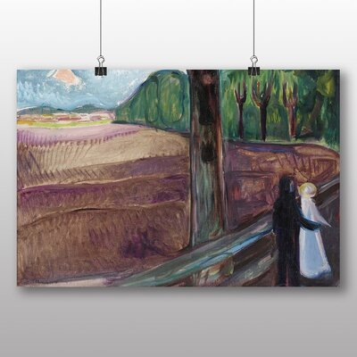 Big Box Art 'Summer Night' by Edvard Munch Art Print