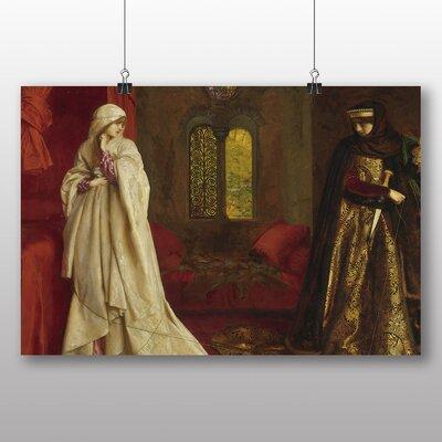 Big Box Art 'Fair Rosamund and Eleanor' by Frank Cowper Cadogan Art Print